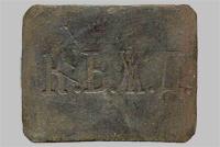 Предположительно пряжка на ремень служащего Киево-Воронежской ж.д. «К.В.Ж.Д.» (Тип 4)