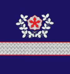 Нарукавные знаки различия Президента ОАО «РЖД» образца 2010 года