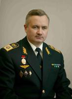 М.В. Иванков бывший первый заместитель Министра путей сообщения РФ (1999-2003 гг.) в форменной одежде образца 1995 года