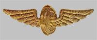 Нагрудная эмблема для форменной одежды работников Российских железных дорог образца 1995 года (металлическая)
