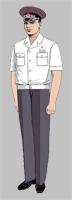 Размещение знаков различия на форменной одежде высшего начальствующего состава ОАО «РЖД» образца 2010 года