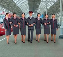 Железнодорожная форма России образца 2010 года