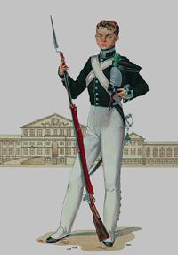 Кадет Института Корпуса инженеров путей сообщения (1829 год)