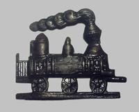 Кокарда машиниста образца 1879 года