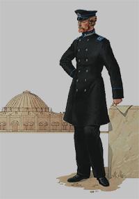 Начальник депо российских железных дорог (1878 год)