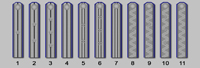 Узкие плечевые ремни ведомства Министерства путей сообщения (1863-1869 годов)