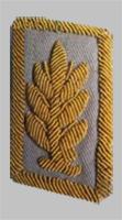 Шитье на петлице высшего начсостава МПС образца 1973 года для светлого пиджака