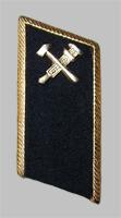 Петлица МПС образца 1985 года для темно-синего пиджака