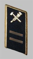 Петлица старшего начсостава МПС образца 1985 года для темно-синего пиджака