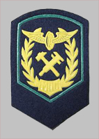 Нарукавнй знак (шеврон) рядового состава МПС образца 1985 года