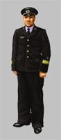Форменная одежда старшего начальствующего состава МПС образца 1979 года