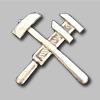 Петличный технический знак НКПС образца 1932 года