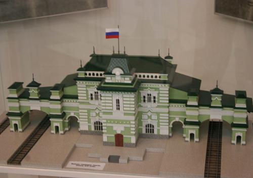 Экспозиция музея истории Юго-Восточной ж.д.