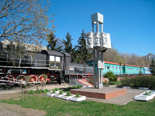 Общий вид вагона-музея