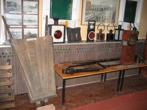 Фрагмент раздела экспозиции первого вагона
