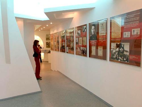 Зал музея истории ТЧЭ Лиски