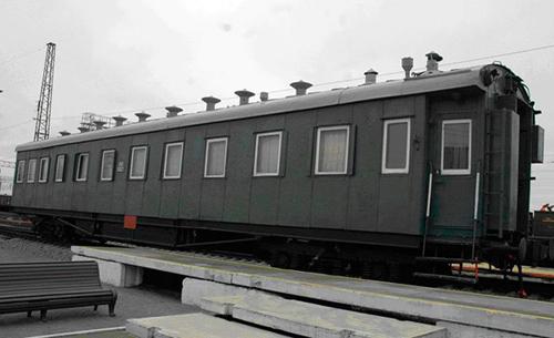 Пассажирский вагон-салон 1937 год