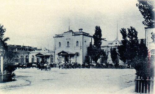 Фото воронежского вокзала 1900-х годов