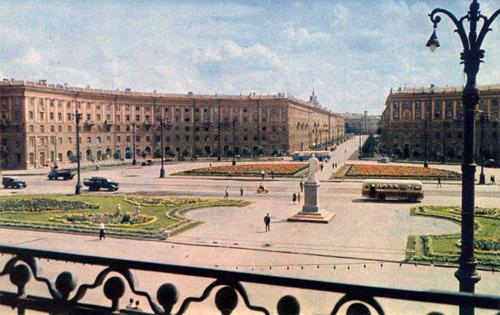 Воронеж. Привокзальная площадь (1965 год)