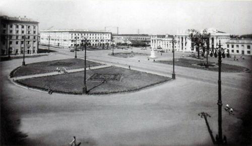 Воронеж. Привокзальная площадь
