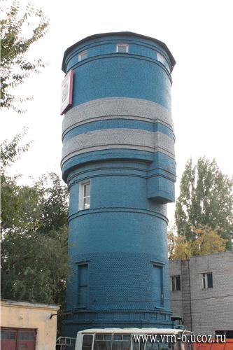 Северная водонапорная башня (2015 год)