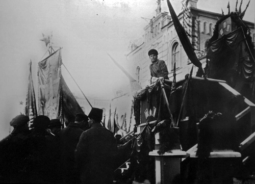 Митинг у воронежского вокзала