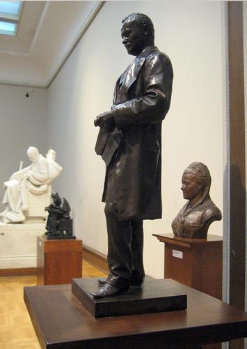 Портрет Самуила Соломоновича Полякова (1877 год). Автор М.М. Антокольский. Государственная Третьяковская галерея. Москва.