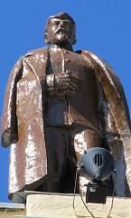Скульптура на здании воронежского вокзала (левое крыло) №5