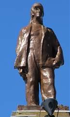 Скульптура на здании воронежского вокзала (правое крыло) №10