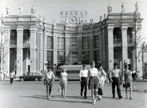 Здание воронежского вокзала